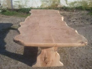 single slab dining tables