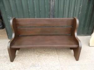 Garden bench handmade