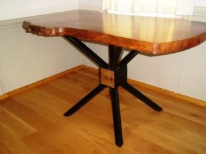 English Romney Marsh Elm dining table