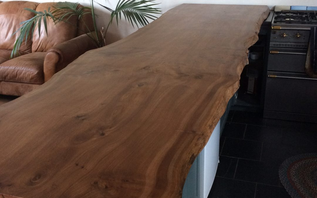 Natural edge countertops