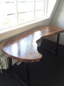 Natural edge furniture