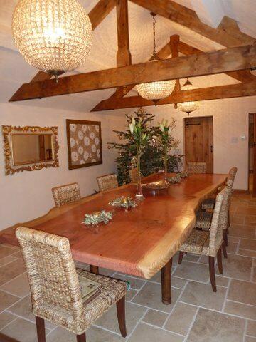 Wellingtonia Dining table.