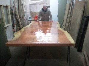 Rustic dining room tables