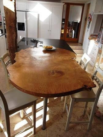 Ancient oak dining table