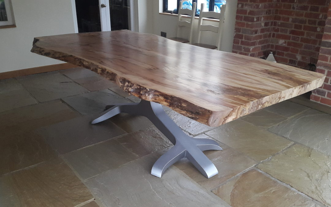 Natural edge tables
