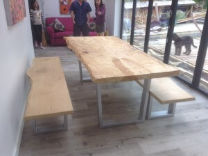 waney edge dining tables