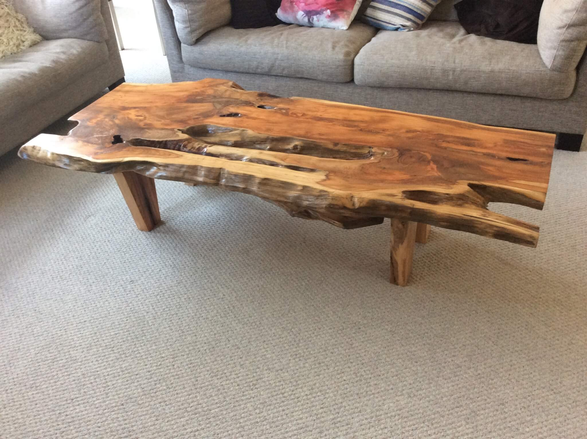 Phenomenal Natural Wood Coffee Table Machost Co Dining Chair Design Ideas Machostcouk