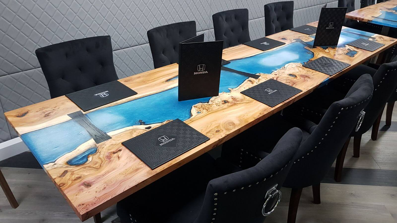 Formula One Resin River Dining Tables Unique Wild Wood