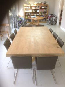 natural edge slab wood dining tables
