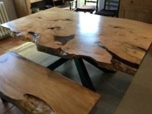 Tree wood kitchen tables